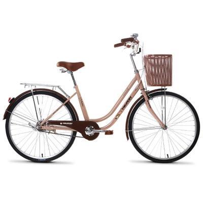 飞鸽自行车 24寸欧式复古车