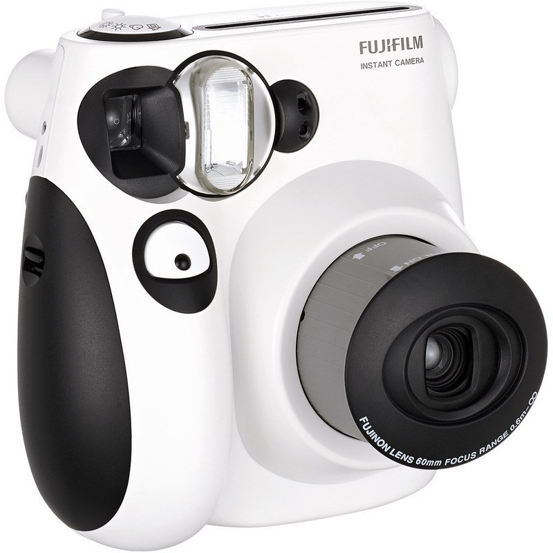 FUJIFILM富士checky趣奇instax mini 7S相机 (熊猫限量版)