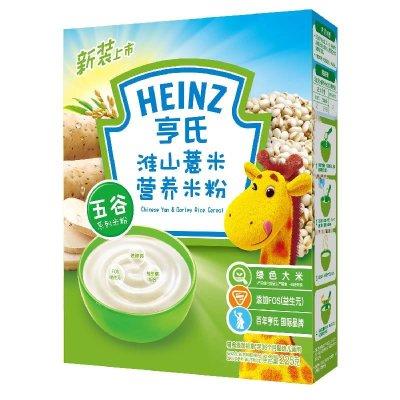 亨氏淮山薏米营养米粉225g