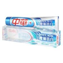 苏宁超市自营 中华牙膏 魔丽迅白冰极薄荷味 深层清洁 去牙渍 去黄 清新口气170g 【联合利华】