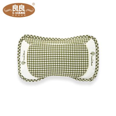 良良(LIANGLIA) LLA01-2G 婴幼儿护型保健枕宝宝枕头矫正护型防多汗(0-3岁加长)绿 45*25.5cm