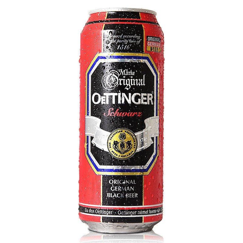奥丁格黑啤酒500ML(24罐/箱)