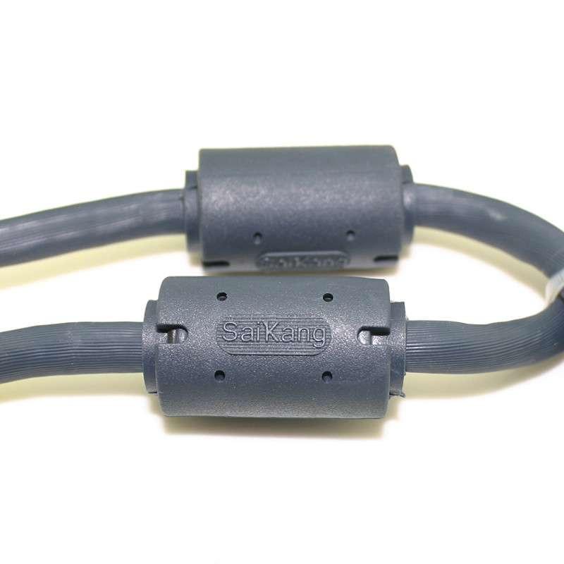 高档vga线 连接线 电脑连接电视高清视频线 超粗vga3 6结构 25米