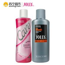 娇妍(JOLLY)护理液情侣装220ml女士+220ml男士 通用 清洁 淡化异味 洗液