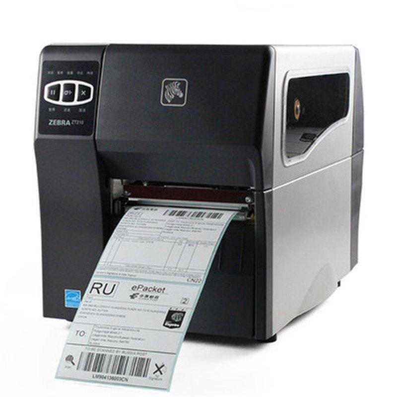 斑马(ZEBRA) ZT210 工业级别条码打印机 不干胶标签机 ZT210 斑马ZT210203dpi)