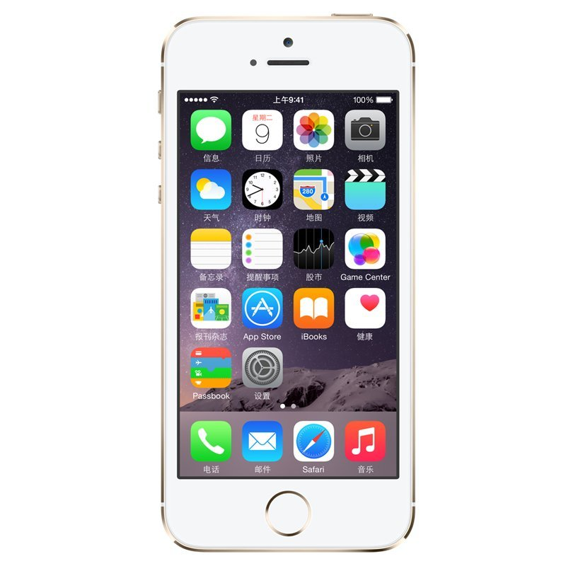 Apple iPhone 5s (16GB)[金](电信)