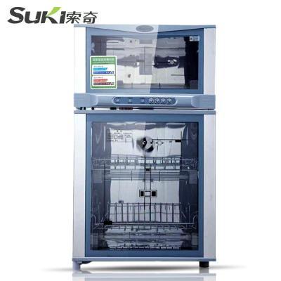 索奇ZTP80-20-WG 立式消毒柜 商用家用消毒碗柜 臭氧 高温 二星级消毒柜