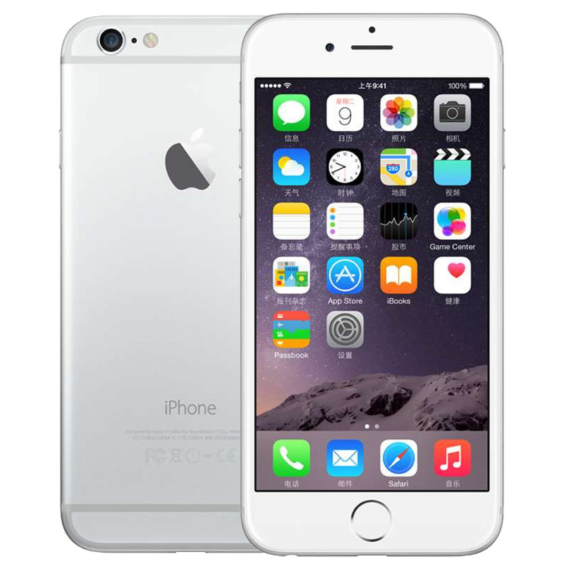 Apple iPhone 6 16GB 银色 移动联通电信4G手机