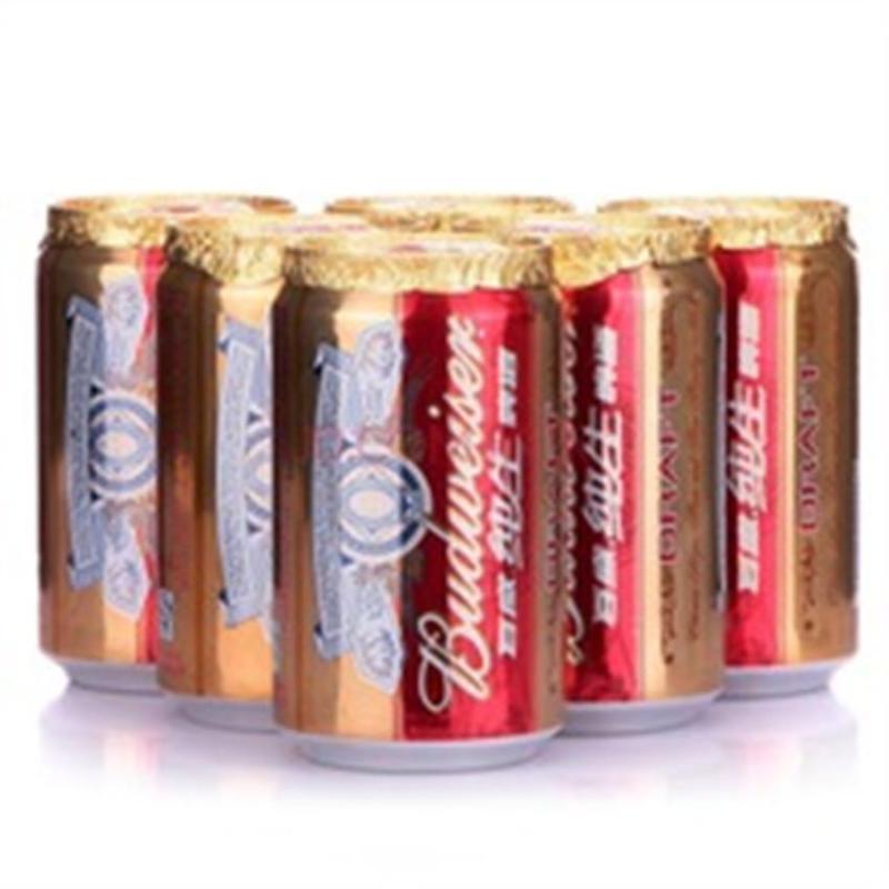 百威纯生啤酒 330ml*4*6