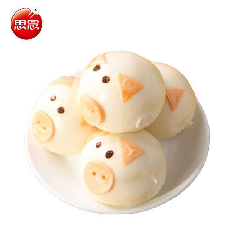 思念小猪包子卡通包 方便速食早餐蜜香红豆猪猪包港式