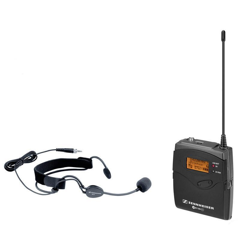森海塞尔ew152g3 无线头戴话筒