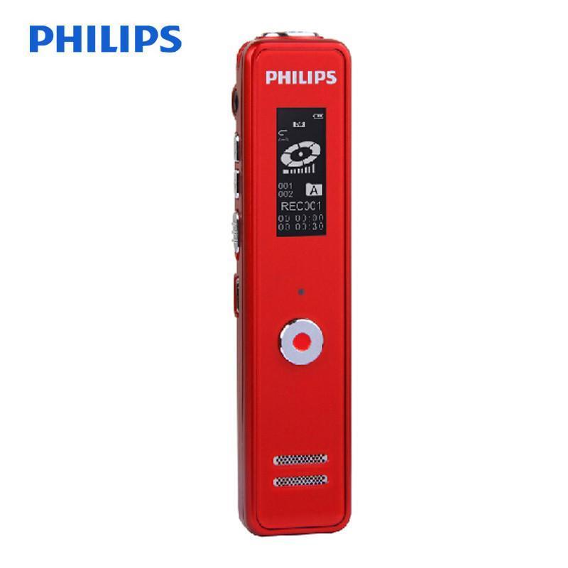 飞利浦(PHILIPS)VTR5100 8GB 录音笔 中国红