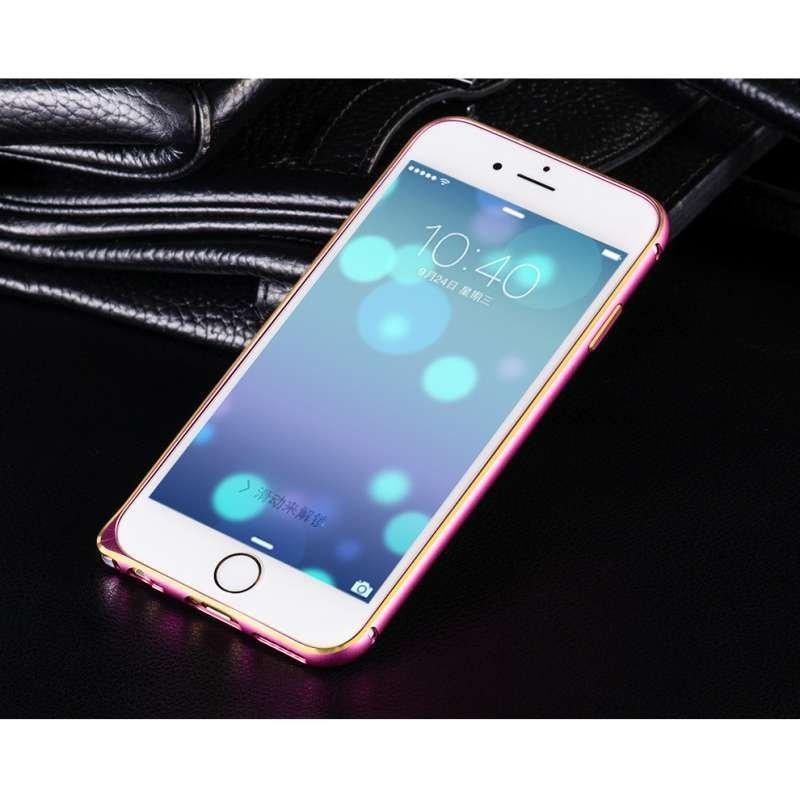 浩酷 海马扣金属边框手机壳 适用于iphone6