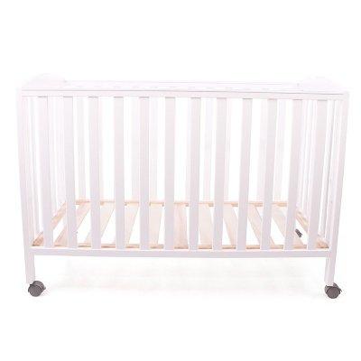 好孩子(Goodbaby)婴儿床 多功能环保实木可折叠婴儿床 MC1000B 白色 125*68
