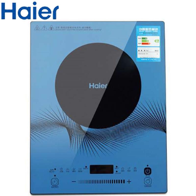 海尔(Haier)电磁炉 C21-B3123 超薄家用定时火锅电磁炉 送汤锅炒锅