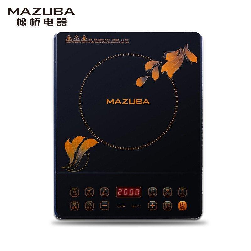 松桥爆款电磁炉MIC-KH2008J时尚超薄款 自由火 智能芯 火锅炒菜必备