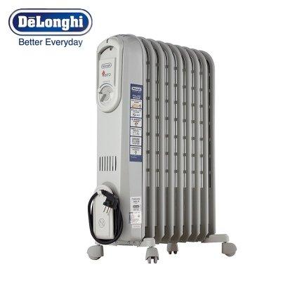 德龙(DeLonghi) V550920 家用9片式电油汀 取暖器 电暖器 电热烤火炉 节能环保静音