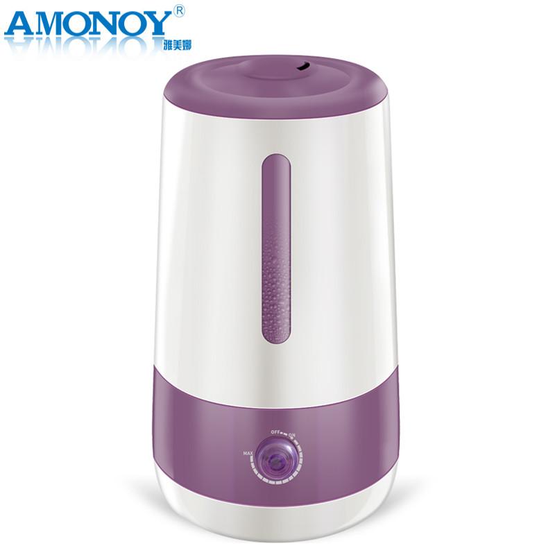 雅美娜(AMONOY)加湿器MJS-618 超声波空气增湿器