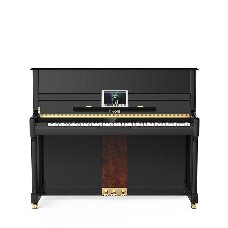 the one 壹枱 智能原声钢琴 立式钢琴 tap 黑色