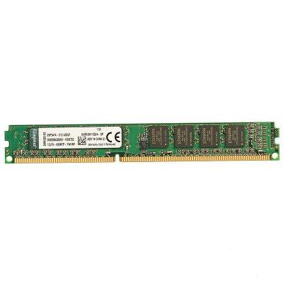 金士顿 (Kingston) KVR DDR3 1600 4GB 台式组装机电脑内存条 (标准电压1.5v)