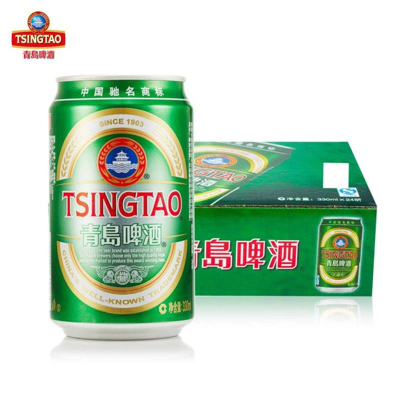 【苏宁超市】青岛啤酒 经典(11度)330*24罐 啤酒