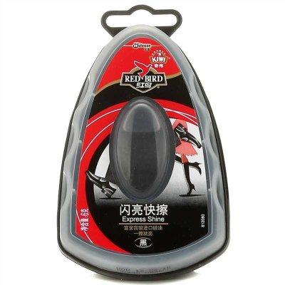 紅鳥 奇偉黑色閃亮快擦 黑色 進口硅油 一擦就亮