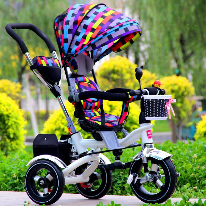 多功能儿童三轮车推车.自行车.脚踏车.童车