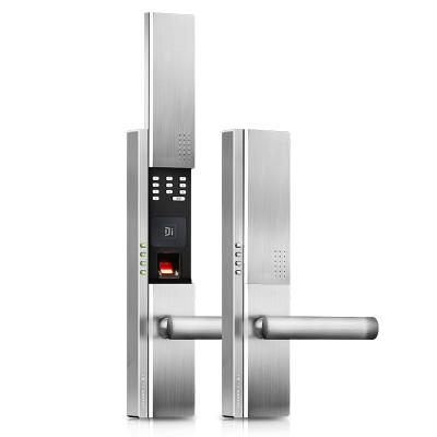 德施曼小嘀T700云智能管家指纹锁 家用防盗门锁 电子门锁手机APP功能-红古铜