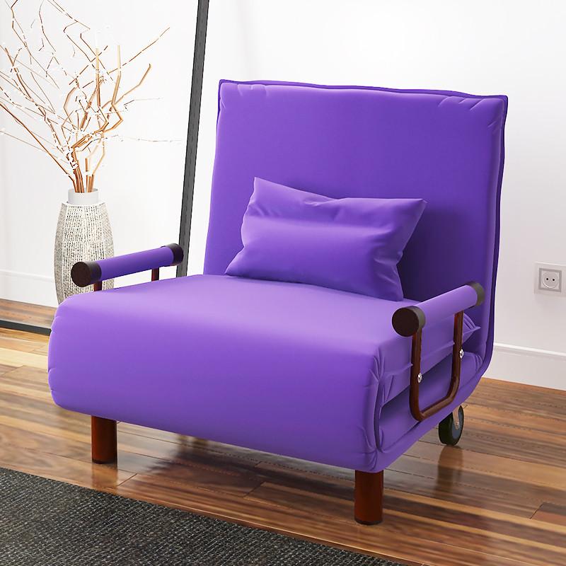 百里香 折叠床单人床沙发床懒人床简易加固办公室躺椅