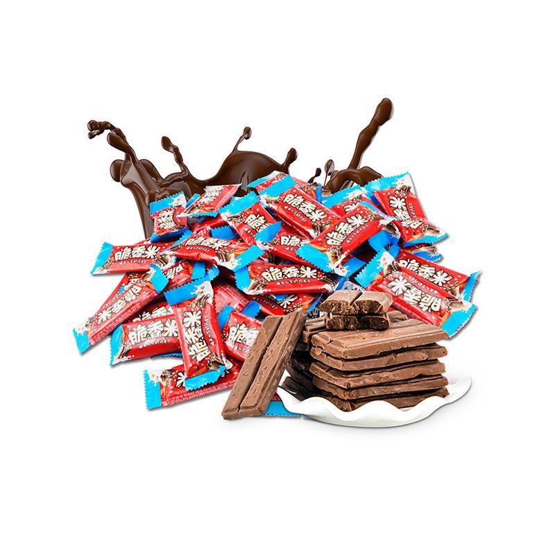 脆香米 脆米心牛奶巧克力 216g/碗