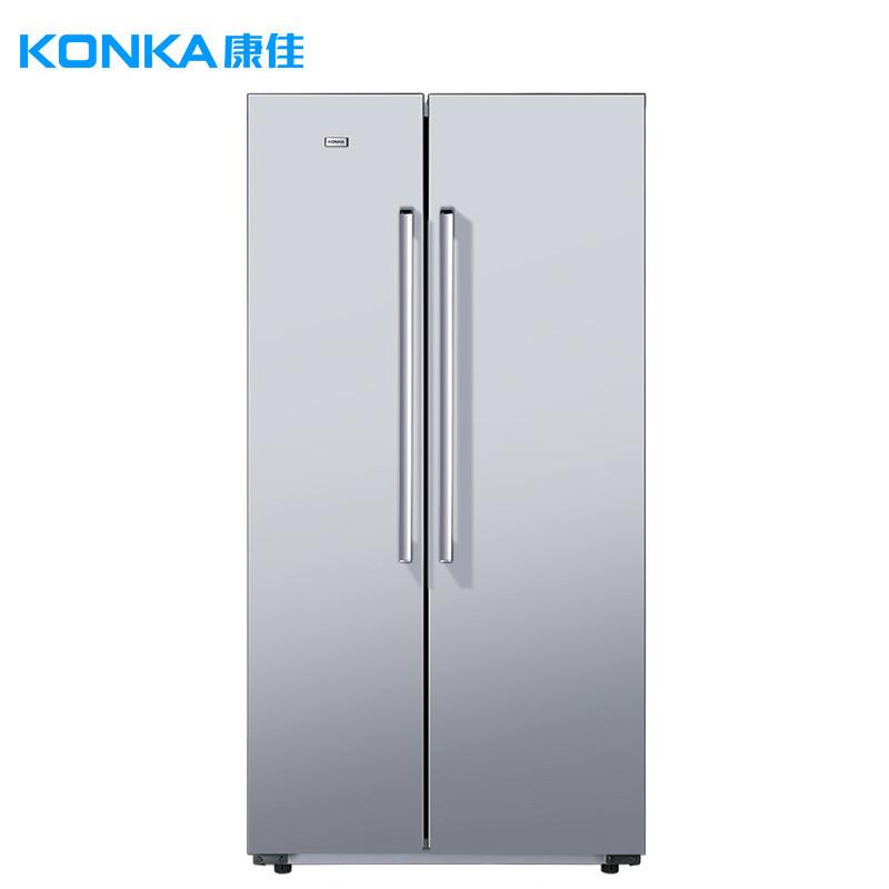 康佳(konka)bcd-425gy5s 425升 对开门电冰箱 快速制冷 机械控温 家用