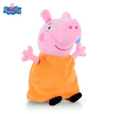 【蘇寧自營】PeppaPig小豬佩奇毛絨玩具小豬佩奇-豬媽 30cm