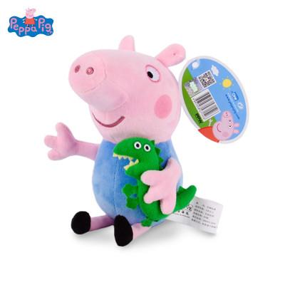 小豬佩奇Peppa Pig毛絨玩具-喬治抱恐龍 30cm