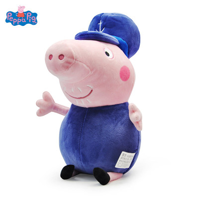小豬佩奇Peppa Pig毛絨玩具豬爺爺 30cm