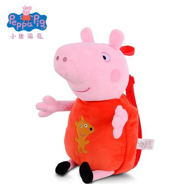 小豬佩奇Peppa Pig毛絨玩具小豬佩奇-佩佩背包 42cm