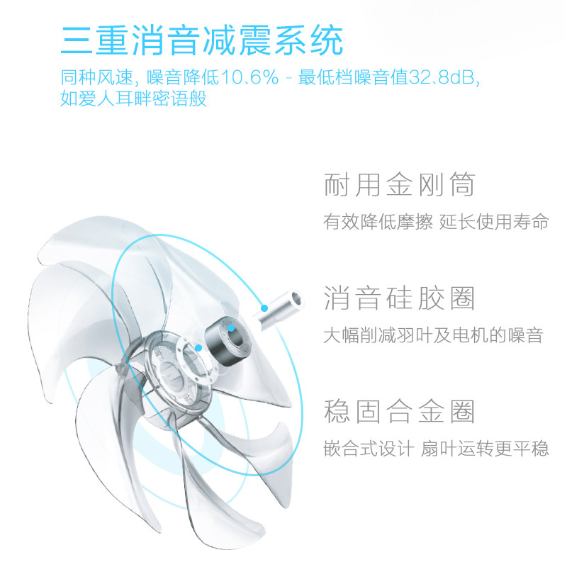 艾美特(Airmate)电风扇 SA35195R