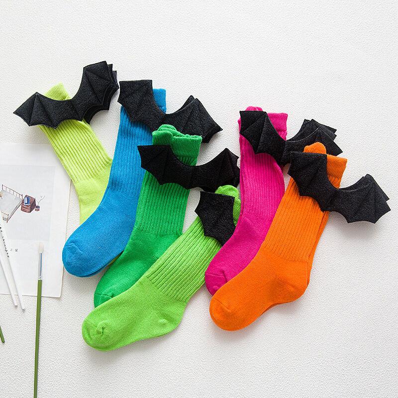 儿童袜子棉品秋冬创意手工可爱立体恶魔翅膀堆堆袜29tc91114897628160