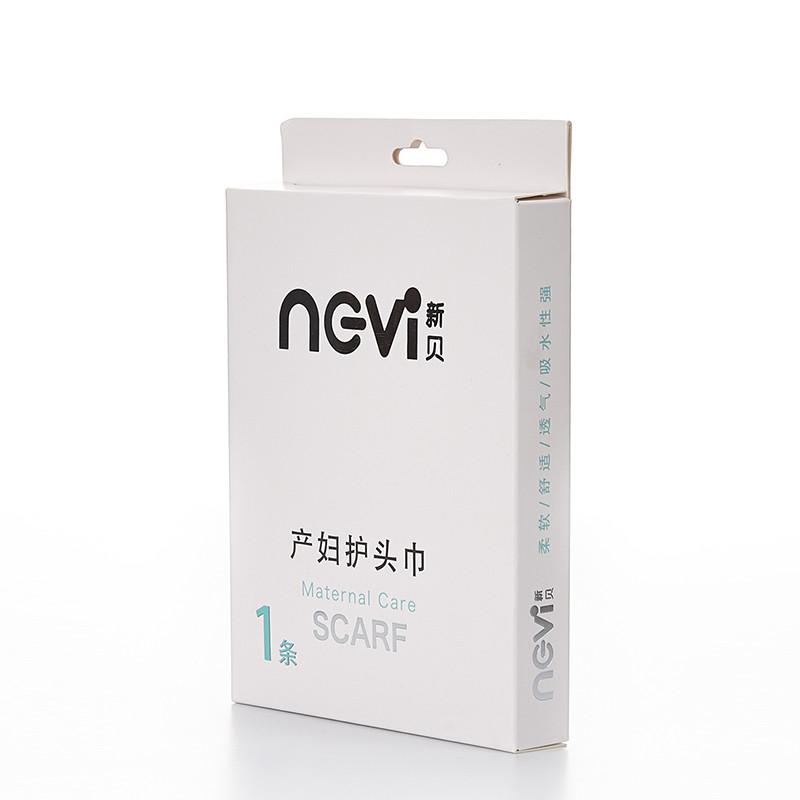 ncvi 新贝 产妇护头巾 XB-8810 月子头巾 12元,可198-100