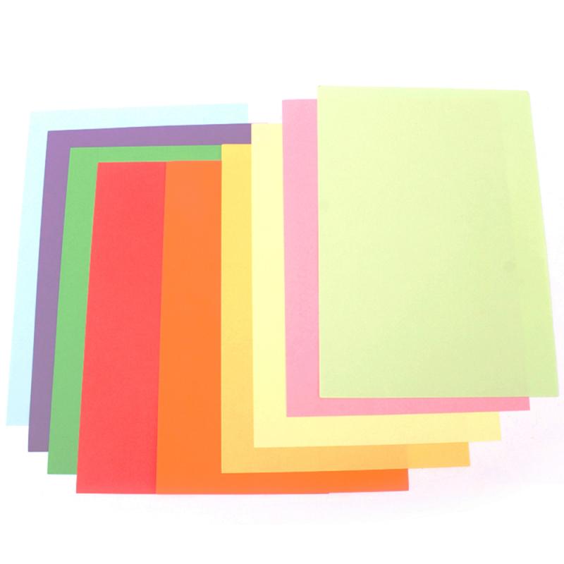 驰鹏A4 80g浅黄复印纸 2包装 手工折纸彩色千纸鹤纸 儿童剪纸彩色卡纸 打印纸 复印纸