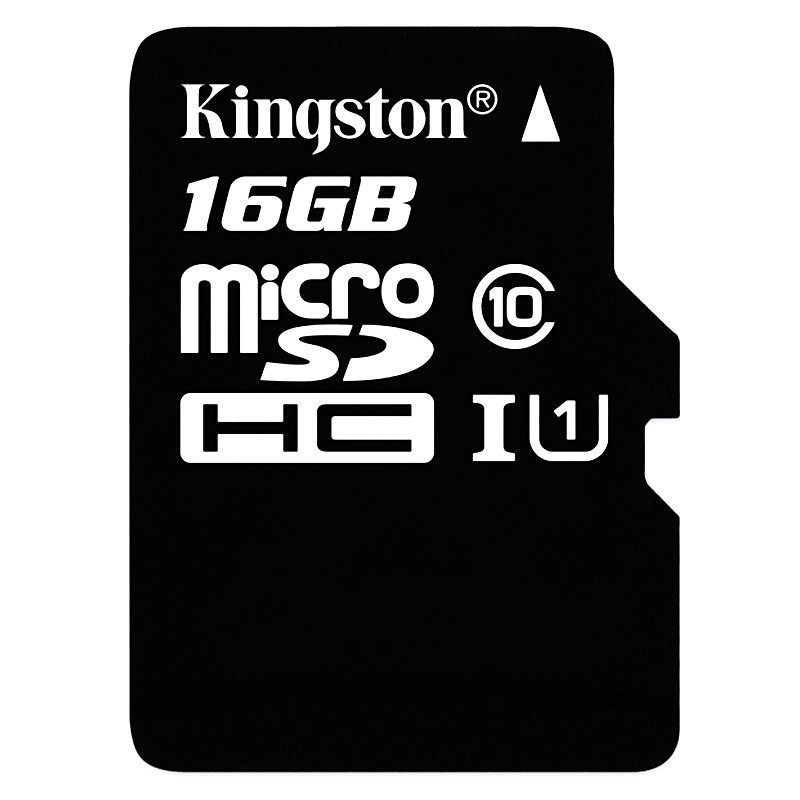 苏宁自营金士顿(Kingston)16GB 80MB/s TF(Micro SD)Class10 UHS-I高速存储卡