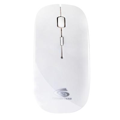 吉。℅ESOBYTE)WM1000 静音版无线鼠标 白色 白色