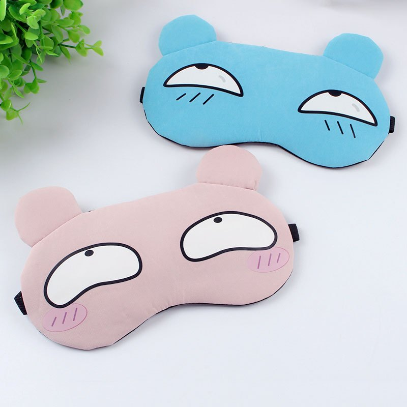 卡通动漫睡眠遮光可爱男女通用眼罩热敷冷敷日本睡觉护眼罩生活日用