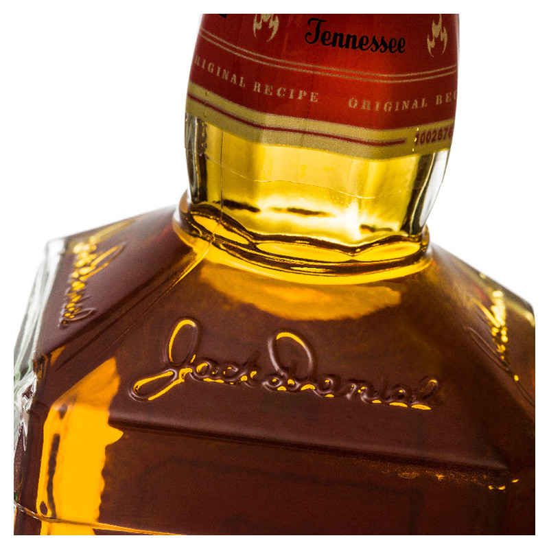 杰克丹尼田纳西州威士忌火焰杰克力娇酒(配制酒)鼠标垫礼盒 700ml