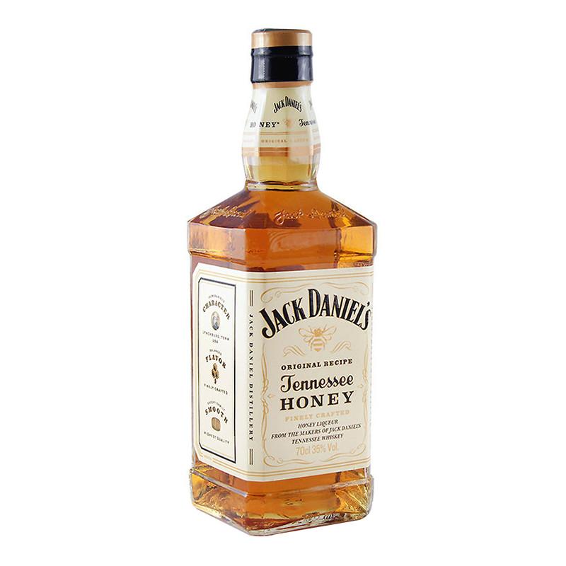 杰克丹尼田纳西州威士忌蜂蜜味力娇酒(配制酒)笔记本礼盒 700ml