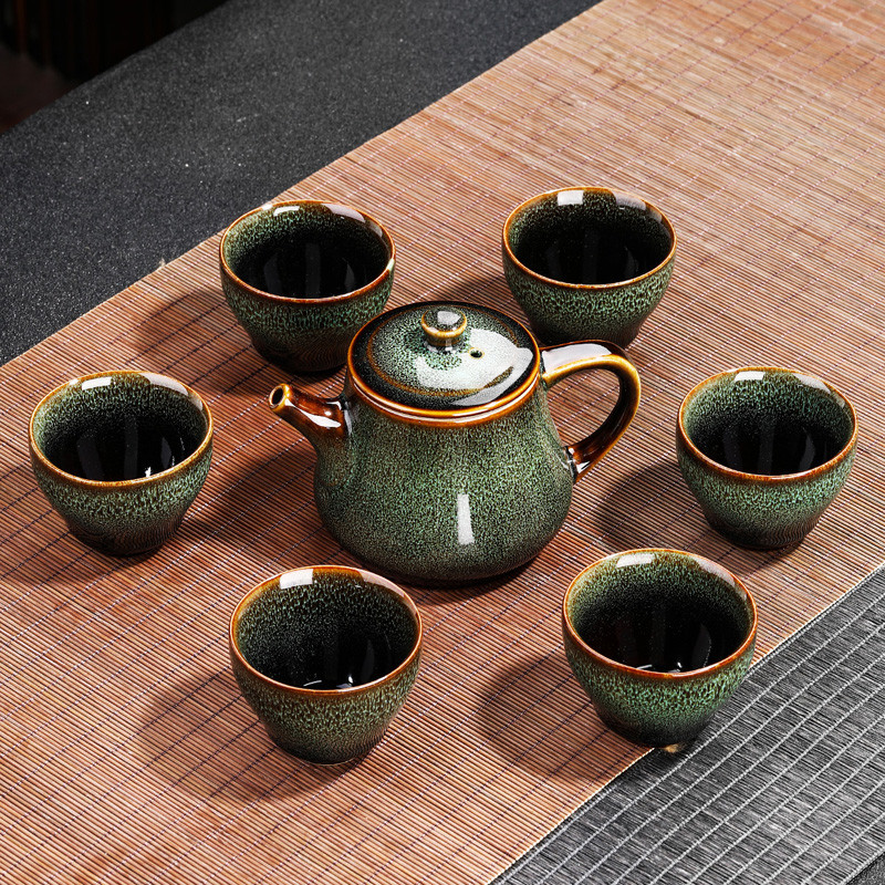 品茶忆友紫砂茶叶罐储物罐