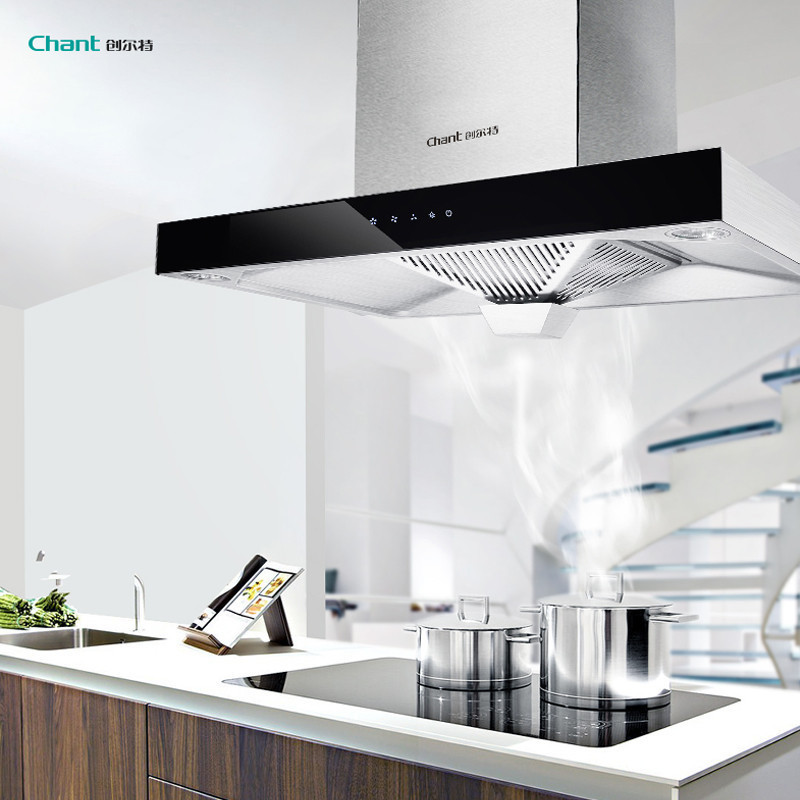 创尔特 (Chant) T型欧式油烟机 顶吸式油烟机 一级能效 6年免费保修