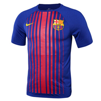 耐克NIKE 2017 秋 男 短tee AS FCB M NK DRY TEE MATCH 859041-455