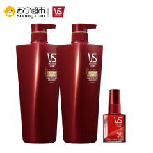 沙宣(VS SASSOON)修护水养500ml洗发水+500ml润发乳+焕采醒发精华水(醒发水)50ml 所有发质 通用