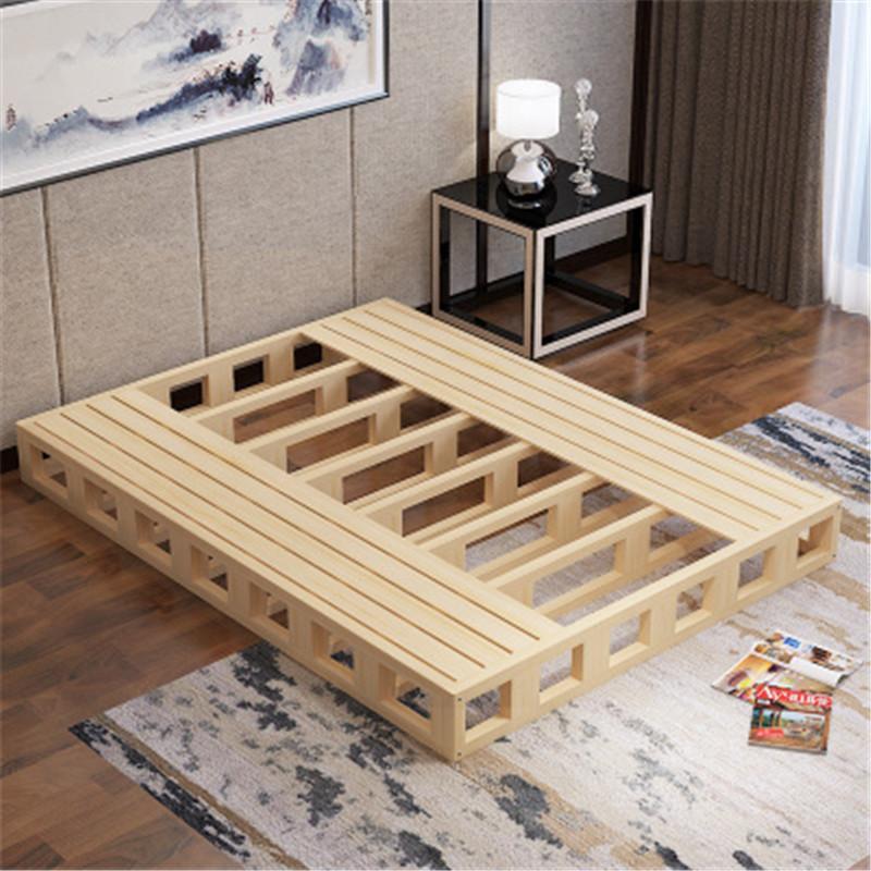 实木硬板床床垫1.5木板床垫护腰双人床板1.图片