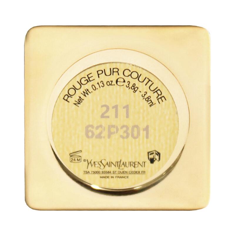 【苏宁超市】YSL/圣罗兰纯口红 211#哑光 迷魅纯漾亮采方管口红纯膏3.8g